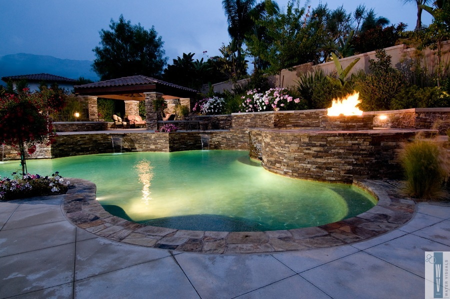 Water Visuals Portfolio Quality Custom Pools